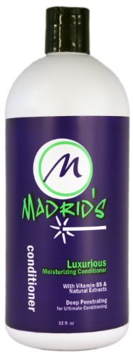 Madrid's Luxurious Deep Penetrating Moisturizing Conditioner 32 oz. by Madrid's International Hair Care System by Madrid's International Hair Care (Image #1)