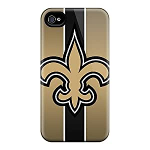 DjR1599tPgZ JohnasonWillema New Orleans Saints Durable Iphone 4/4s Tpu Flexible Soft Cases