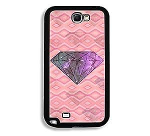 Geometric Galaxy Diamond Thinshell Case Protective Note 2 Case