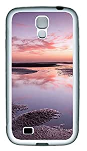 Samsung S4 Case Ocean views TPU Custom Samsung S4 Case Cover White