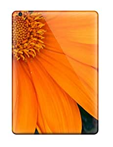 New Snap-on Valerie Lyn Miller Skin Case Cover Compatible With Ipad Air- Orange Flowers