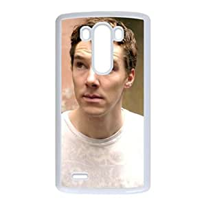 Benedict Cumberbatch LG G3 Cell Phone Case White y2e18-402460