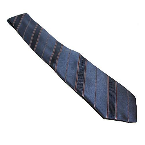 Gucci Striped Woven Silk Tie 3518066, Blue Woven Silk Necktie (Gucci Woven Tie)