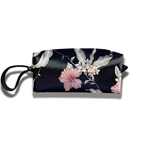 Michelle Brightful Portable Pen Bag Purse Pouch Blooming Rose Stationery Storage Organizer Cosmetic - Stationery Blooming