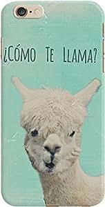 DailyObjects Como Te Llama Case For iPhone 6 Plus Green