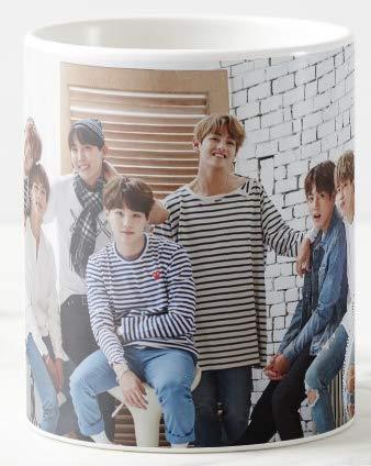 Mott2 BTS Bangtan Sonyeondan Bangtan Boys Kpop Music Band Printed Coffee Mug Price & Reviews