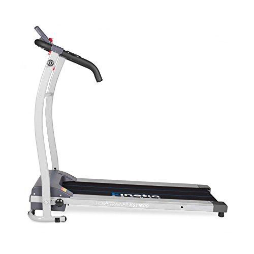Kinetic Sports Laufband, Leiser 500 W Elektromotor, mit Trainingscomputer, Zusammenklappbar