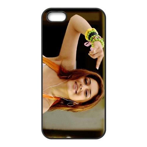 Hansika Motwani South Indian Actress 14 coque iPhone 5 5S cellulaire cas coque de téléphone cas téléphone cellulaire noir couvercle EOKXLLNCD24211