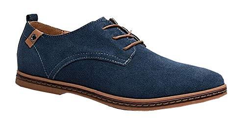 Business Blau LILI Casual Herren Wildleder Schuhe Schuhe Shop HOqOP7R