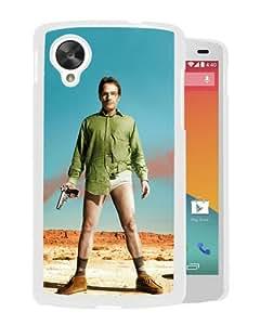 Popular Nexus 5 Case,Breaking Bad 1 White Google Nexus 5 Screen Phone Case Elegant and Fashion Design