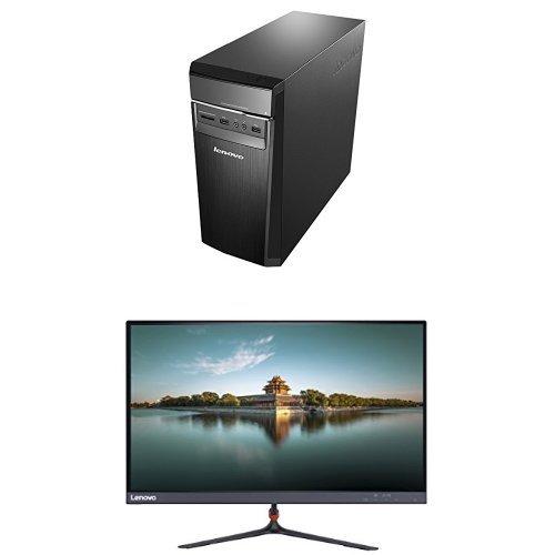 Photo - Bundle: Lenovo Ideacentre 300 Desktop (Intel Core i5, 8 GB RAM, 1TB HDD, Windows 10) 90DA004HUS + Lenovo 23-Inch FHD LED-Lit 16:9 Widescreen Monitor (65C8KCC1US)
