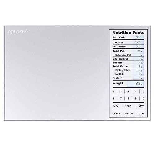 Greater Goods Nourish Digital Kitchen Scale, Food Scale with (New...