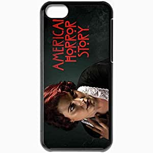 Personalized iPhone 5C Cell phone Case/Cover Skin Alexandra Breckenridge Maid TV Series Moira Housekeeper American Horror Story Black