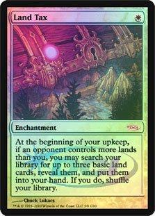 Dci Foil (Magic: the Gathering - Land Tax - Foil DCI Judge Promo - Judge Promos -)