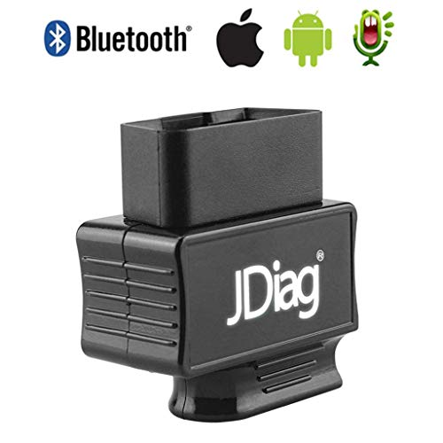 OBDKCAN OBD2 Scanner Bluetooth, Bluetooth OBD2 Scanner Code Reader Faslink M2 Professional Vehicle Diagnostic Tool Compatible iPhone, iPad & Android (Black)