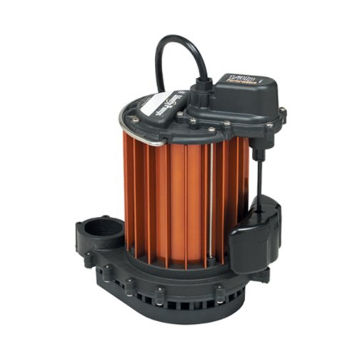 Liberty Pumps 237 1/3-Horse Power 1-1/2-Inch Discharge 230-Series Automatic Submersible Sump Pump with VMF Switch