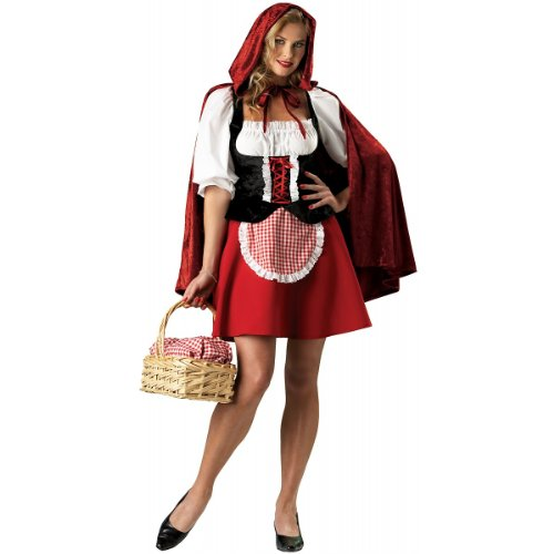 InCharacter Costumes Women's Red Riding Hood Plus Size Costume, Small