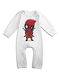 Deadpool Baby Onesie Romper Jumpsuit Bodysuits