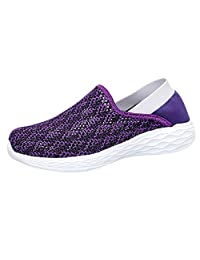 ANOKA Womens Ladies Trainers Sale Couple Outdoor Mesh Hollow Sports Shoes Run Breathable Shoes Sneakers