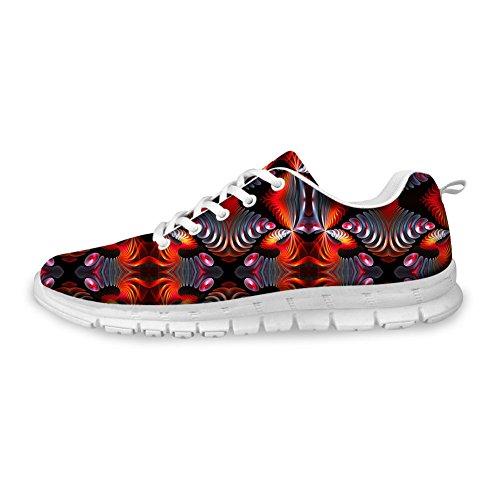 Bigcardesigns Mode Féminine Chaussures De Course Baskets Lace Up Style 3