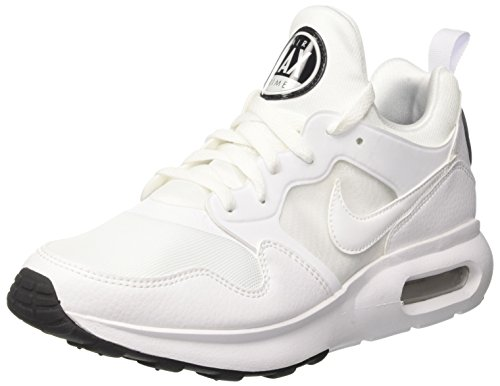 Nike Men's Air Max Prime Low-Top Sneakers Black (White/White/Pure Platinum/Black 100) sale 2015 new ZVjOdT