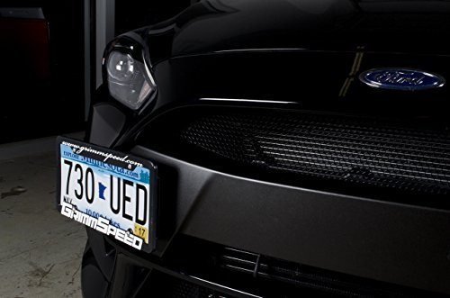 (GrimmSpeed 2016-19 Focus RS License Plate Relocation Kit)
