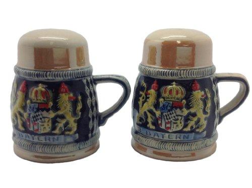 Bayern Beer Stein Salt and Pepper Shaker Set