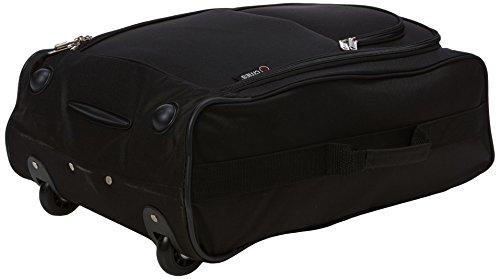 41B02U0karL - 5 Cities The Valencia Collection Juego de maletas TB830 / HD602 Black, 55 cm, 42 L, Negro