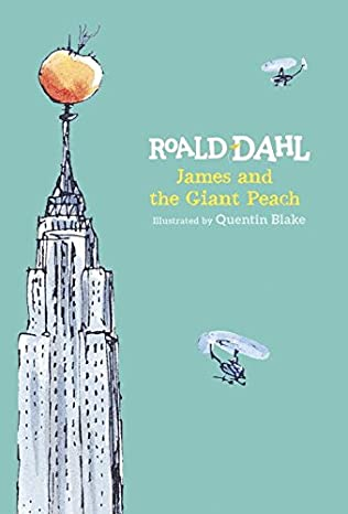book cover of James and the Giant Peach