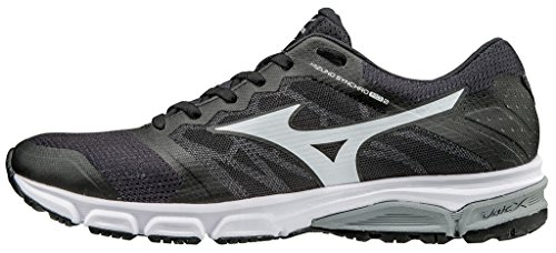 Mizuno Men's Synchro Md Running Shoes, Black Black