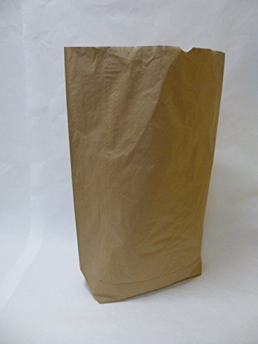 25 St. Papier-Bioabfallsäcke 120l Format 70x95x22 cm Motiv: 'unbedruckt', 2lagig, mit extra Bodendeckblatt