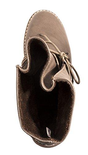 Elara - botas estilo motero Mujer marrón