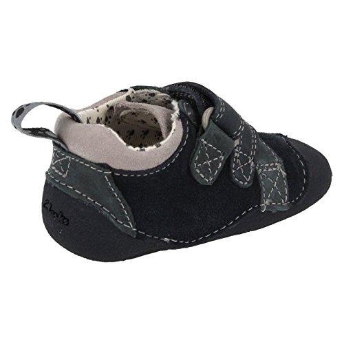Clarks Tiny Paw 20355753 Baby Jungen Krabbelschuhe Blau