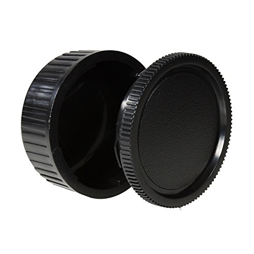 (CamDesign Body Cap & Camera Rear Len Cover Set Compatible with Pentaxist DS DS2 D DL DL2 K10D K20D K100D K110D K200D K100D Super K-5 K-7 K-30 K-r K-x K-m (K-m aka K2000) K-01)