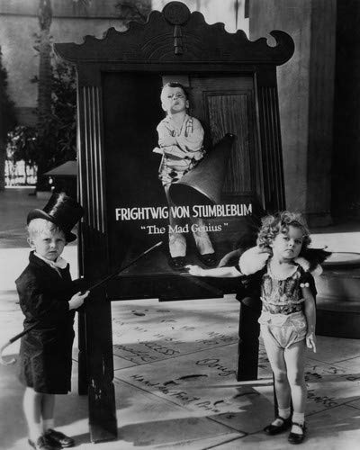 Jackie Cooper and Shirley Temple classic together at Grauman's Chinese Theater Hollywood 16x20 Poster -