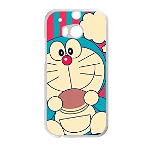 Personalized Creative Cell Phone Case For HTC M8,cute lovely doraemo