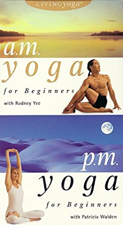 Living Yoga: A.M./P.M. Yoga for Beginners [USA] [VHS ...