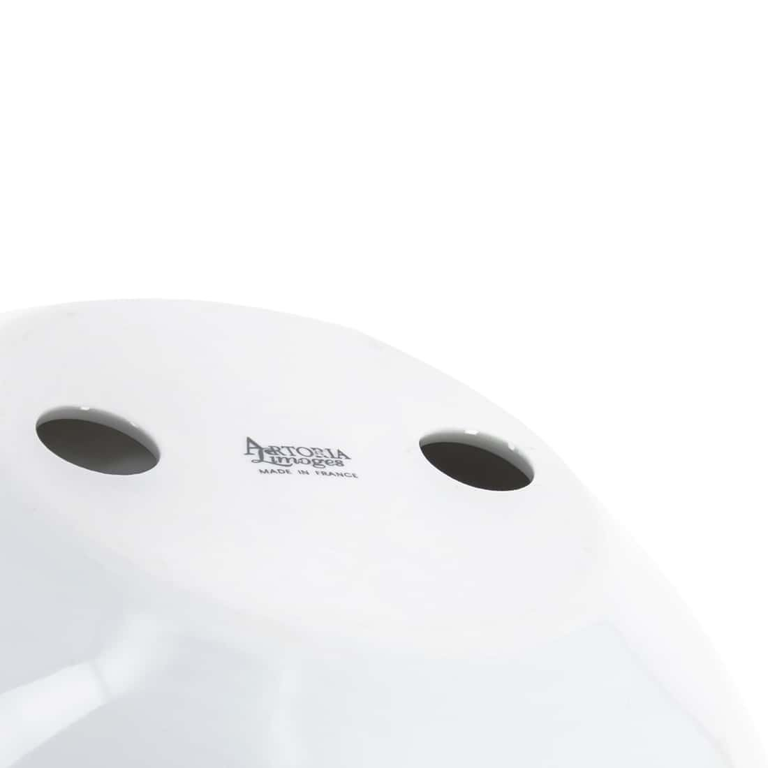 Davidoff White and Silver Porcelain Ashtray by Davidoff (Image #5)