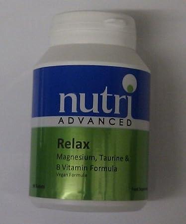 Amazon.com: Relax magnesio, taurina y vitaminas del grupo B ...