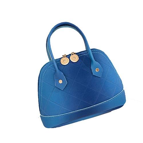 Ladies Messenger Shell PU Leather Diamond Lattice Shoulder Handbags For (Ladies Pocketbook Jewerly Case)