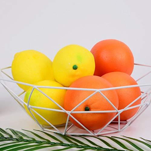 MoGist Fruit Basket Fruit Bowls Storage Stainless Steel Wire Snacks Storage Basket Home Kitchen Art Decoration Fruit Basket, 26 cm - Copper Plated (Golden) by MoGist (Image #1)
