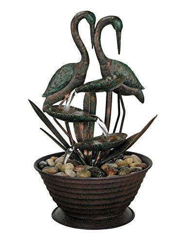 Nature's Garden Birds Metal Fountain by Nature's Garden