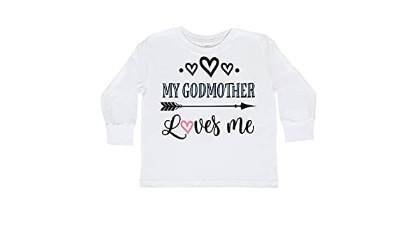 inktastic Will You Be My Godmother Proposal Long Sleeve Creeper