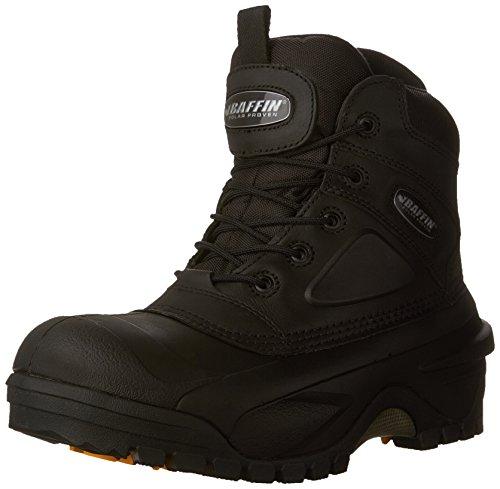 Compressor Work Boots - Baffin Men's Compressor STP Work Boot,Black,10 M US
