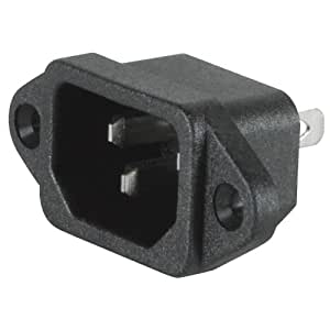Parts Express IEC Power Jack Chassis Mount