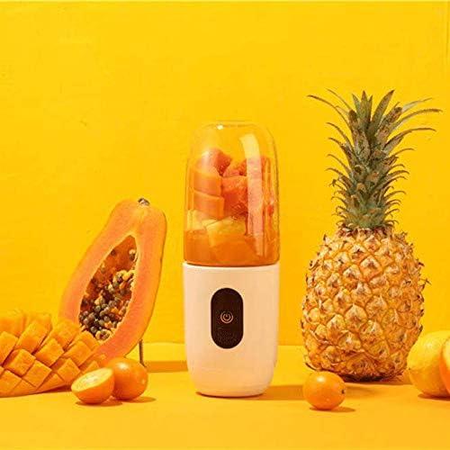 Post Personal Mini portátil inalámbrico Exprimidor, Recargable Mezclador de la Fruta Jugo Compacto Copa licuado con USB for Viajes, Oficina, Gimnasio Impermeable