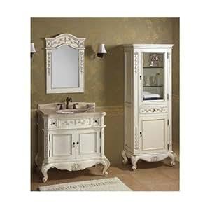 vintage bordeaux 36 bathroom vanity finish. Black Bedroom Furniture Sets. Home Design Ideas