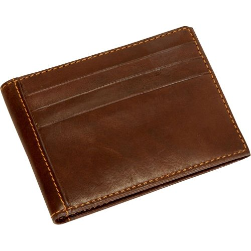 Brown Italian Perotti Ultimo pocket wallet Executive Leather Tony Credit Card Front O6TAwRnvxn