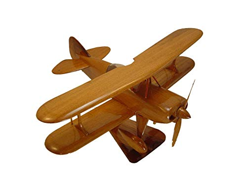 - Pitts Christen Eagle Mahogany wood Airplane model