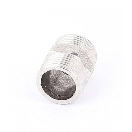 Amazon.com: DealMux 1BSP para 1BSP Masculino M / M roscado Hex Reduzindo adaptador do tubo de bucha tubulação: Electronics